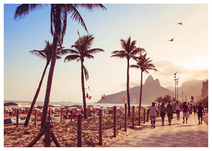 Le spiagge di Rio de Janeiro: Ipanema