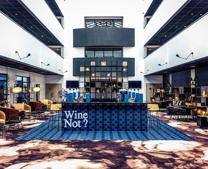 Il bar dell'hotel Mercure Blois Center