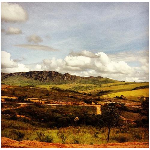 Un paesaggio tipico del Minas Gerais