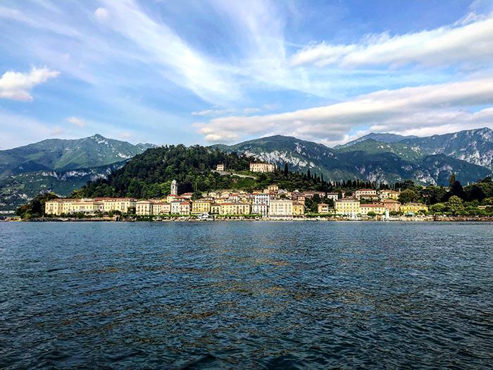 Una gita in barca a Bellagio