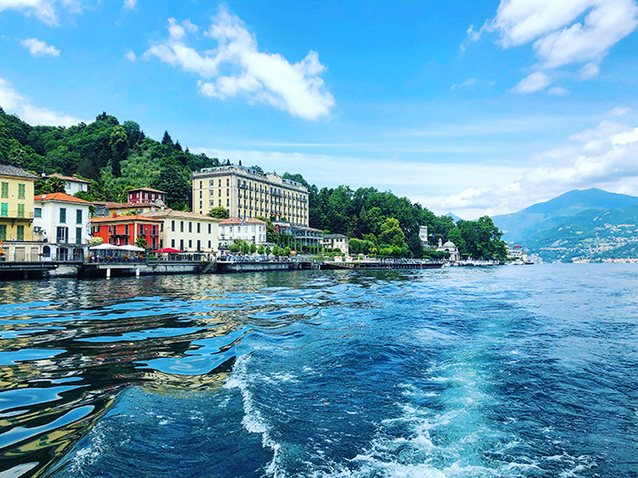 Una gita in barca a Tremezzo