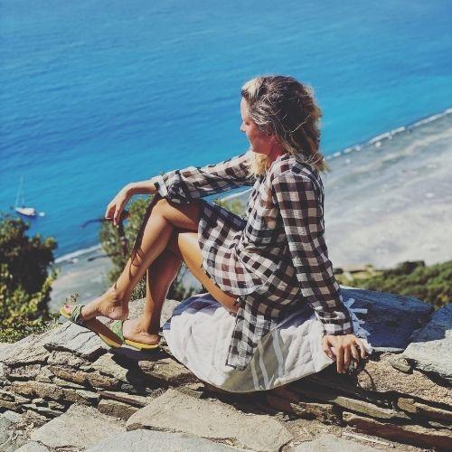 Corsica, spiaggia di Nonza