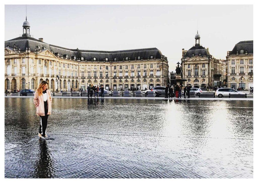 Cosa vedere a Bordeaux: Miroir d'eau