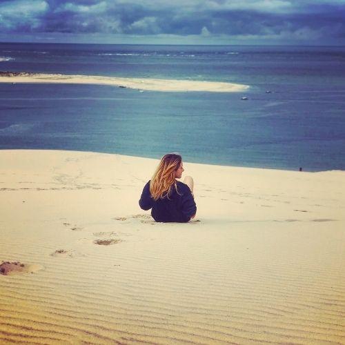La Dune du Pilat e l'Oceano Atlantico
