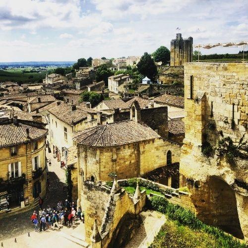 Il villaggio di Saint-Émilion