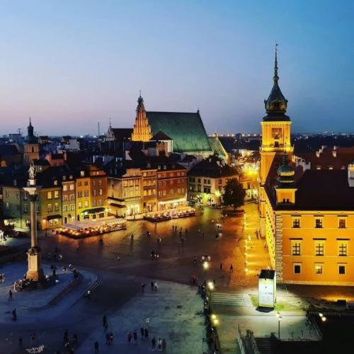 Cosa vedere a Varsavia: Piazza Castello