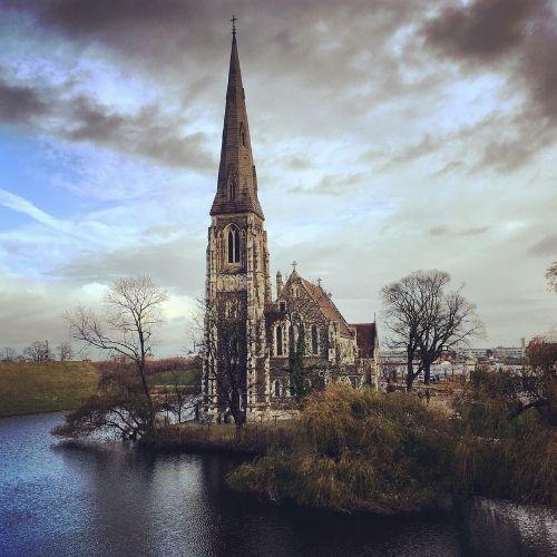 Il Kastellet e la chiesa anglicana di St. Alban