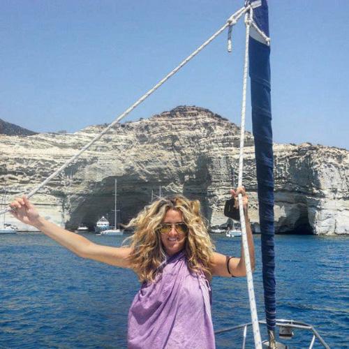 Gita fuori porta sull'isola di Kimolos