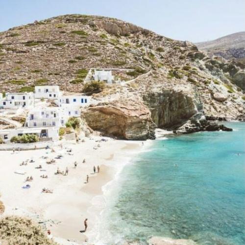 Spiaggia di Agali, Folegandros