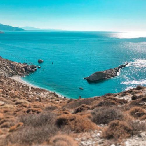 Spiaggia di Katergo, Folegandros