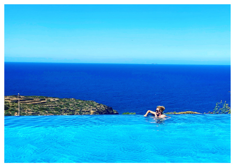 La piscina del Pantelleria Dream Resort