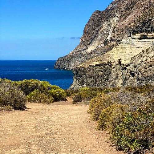 I paesaggi dell'isola di Pantelleria