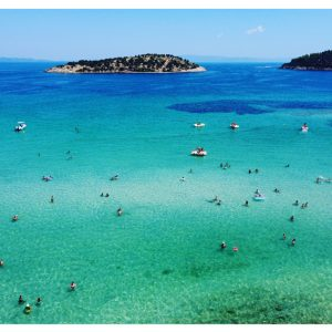 Sithonia, Lagonisi Beach